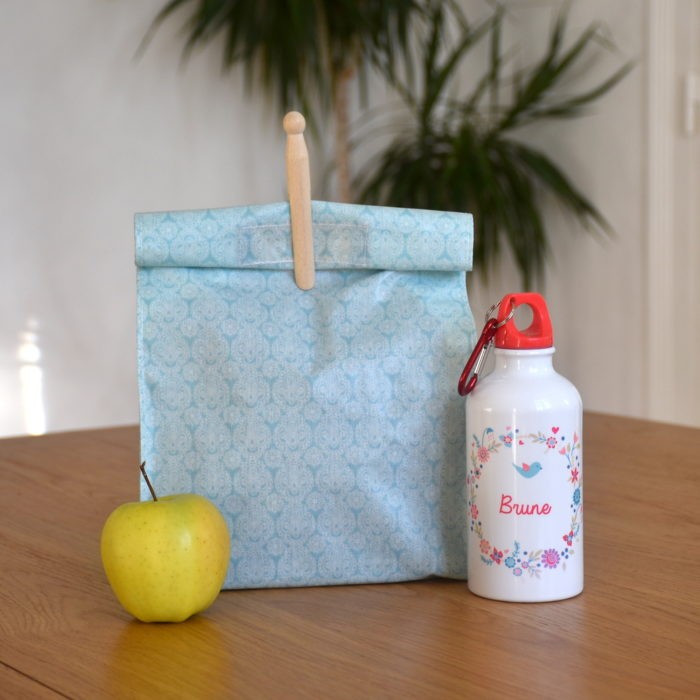 Lunch Bag Malo motif Cachemire
